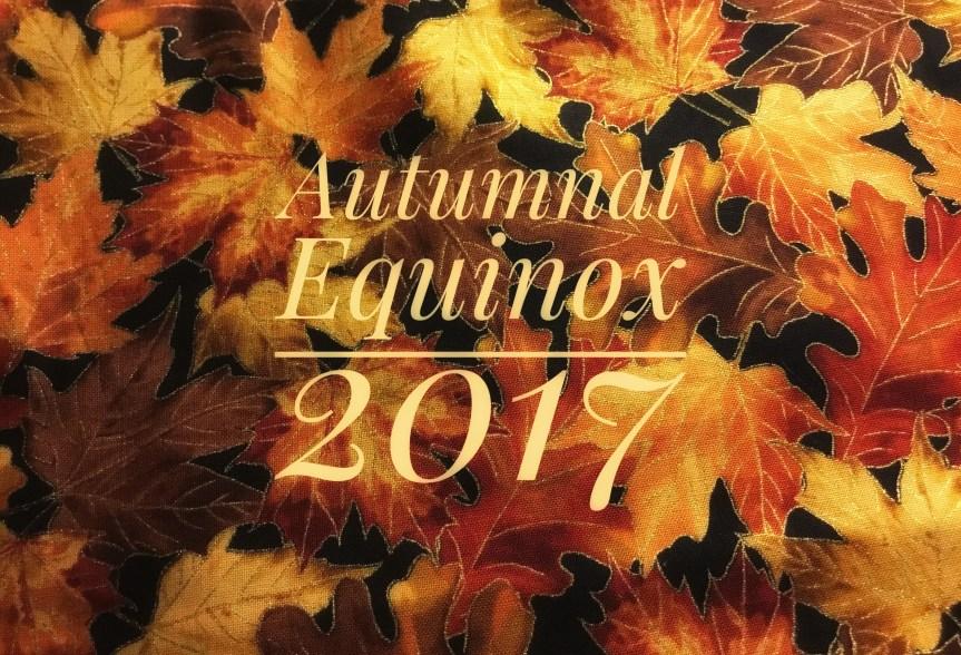 Autumnal Equinox, 9/22/17