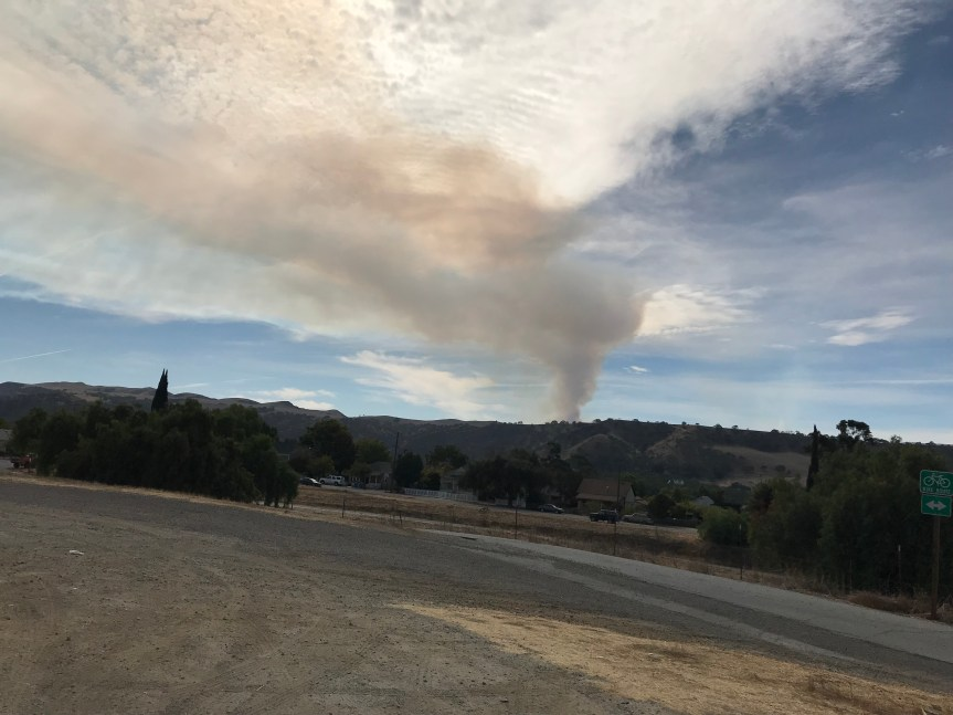 Controlled Burn in San Benito Co