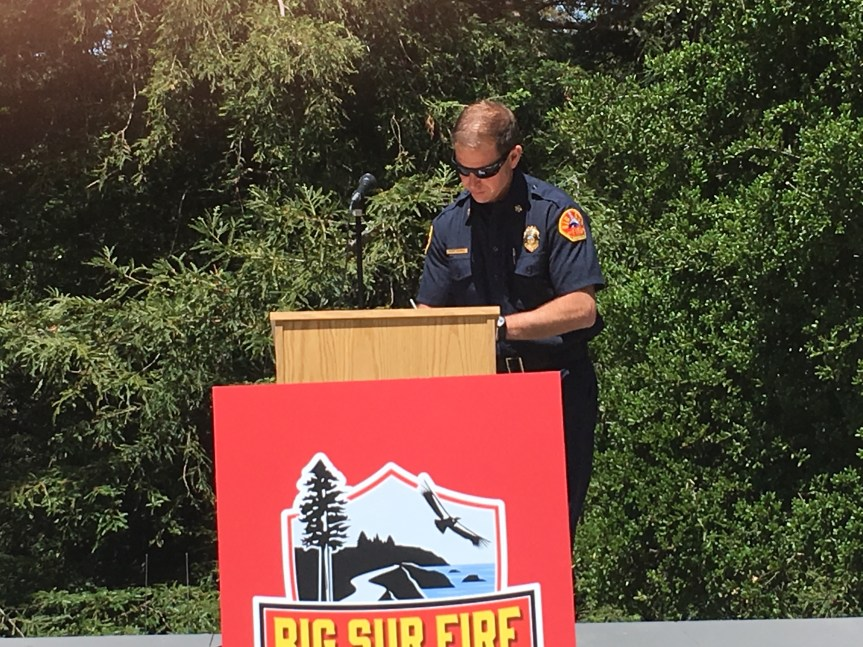 Big Sur Fire – 45th Anniversary
