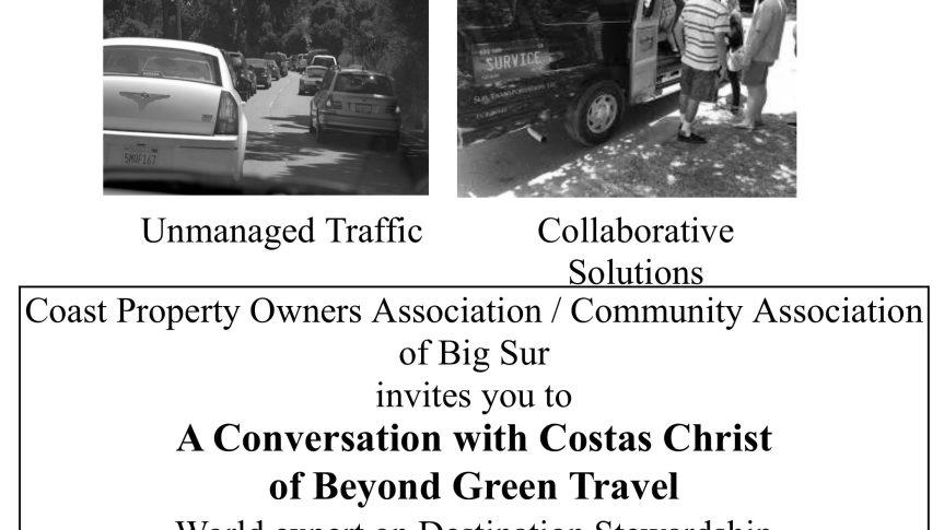 Destination Stewardship Plan Community Meeting