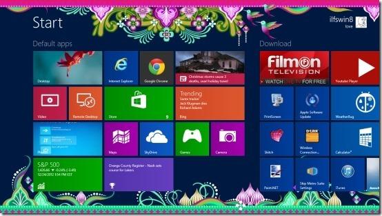 Change Start Screen Background In Windows 8 (1)