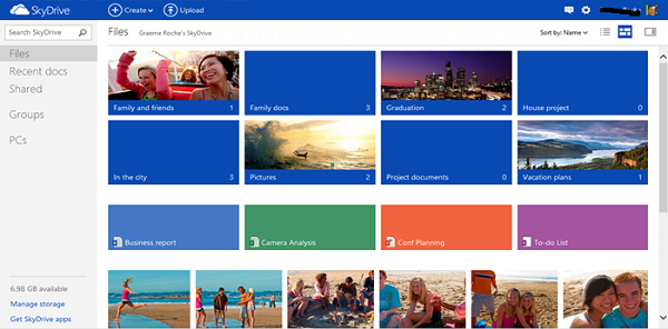 Microsoft's SkyDrive Online Backup Review (1)