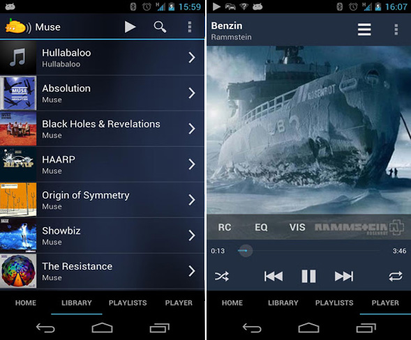 android-stream-subsonic
