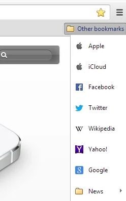 Chrome-bookmark-extensions-bookmarks-icloud