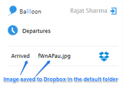 Save any Images and Files to Google Drive or Dropbox directly with Ballloon (5)