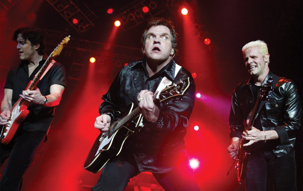 What won't Meat Loaf do for love?