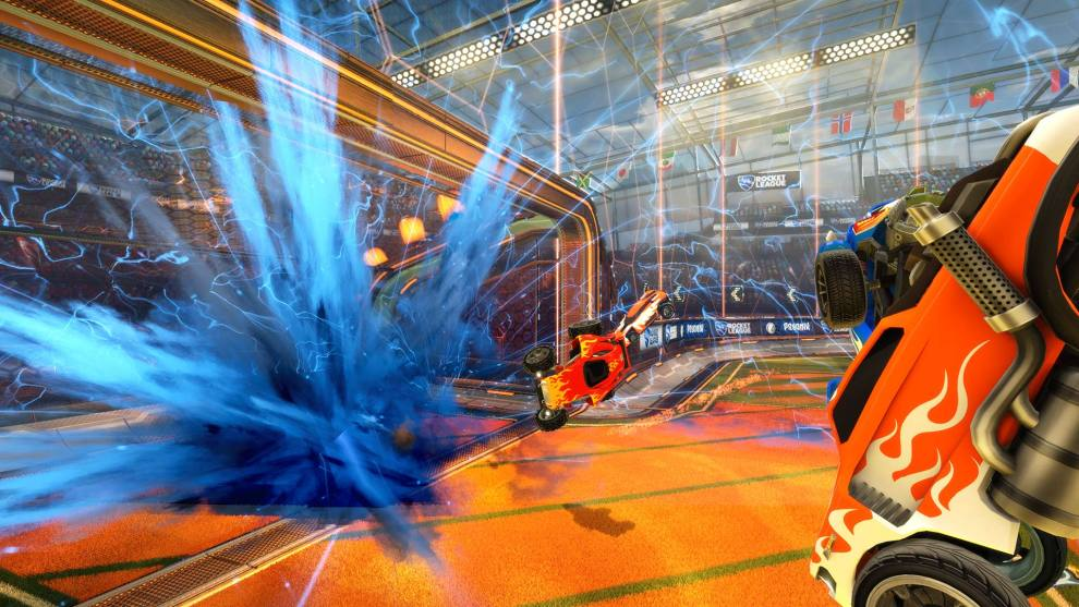 Where are Rocket League replays saved and how can I share them