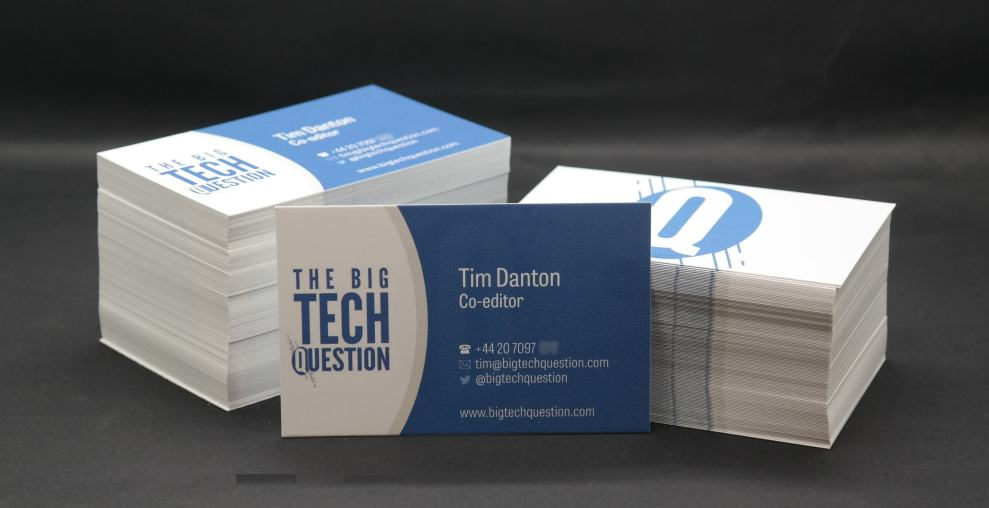 Vistaprint Business Cards Review Are They As Polished As