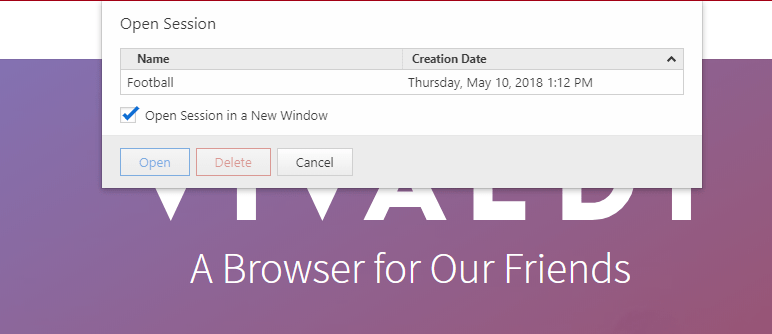 save a group of tabs