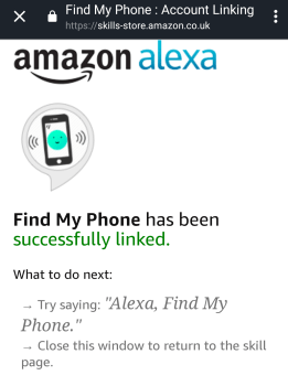 alexa find phone