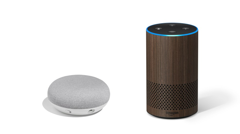 Pair a Google Home Mini with Amazon Echo