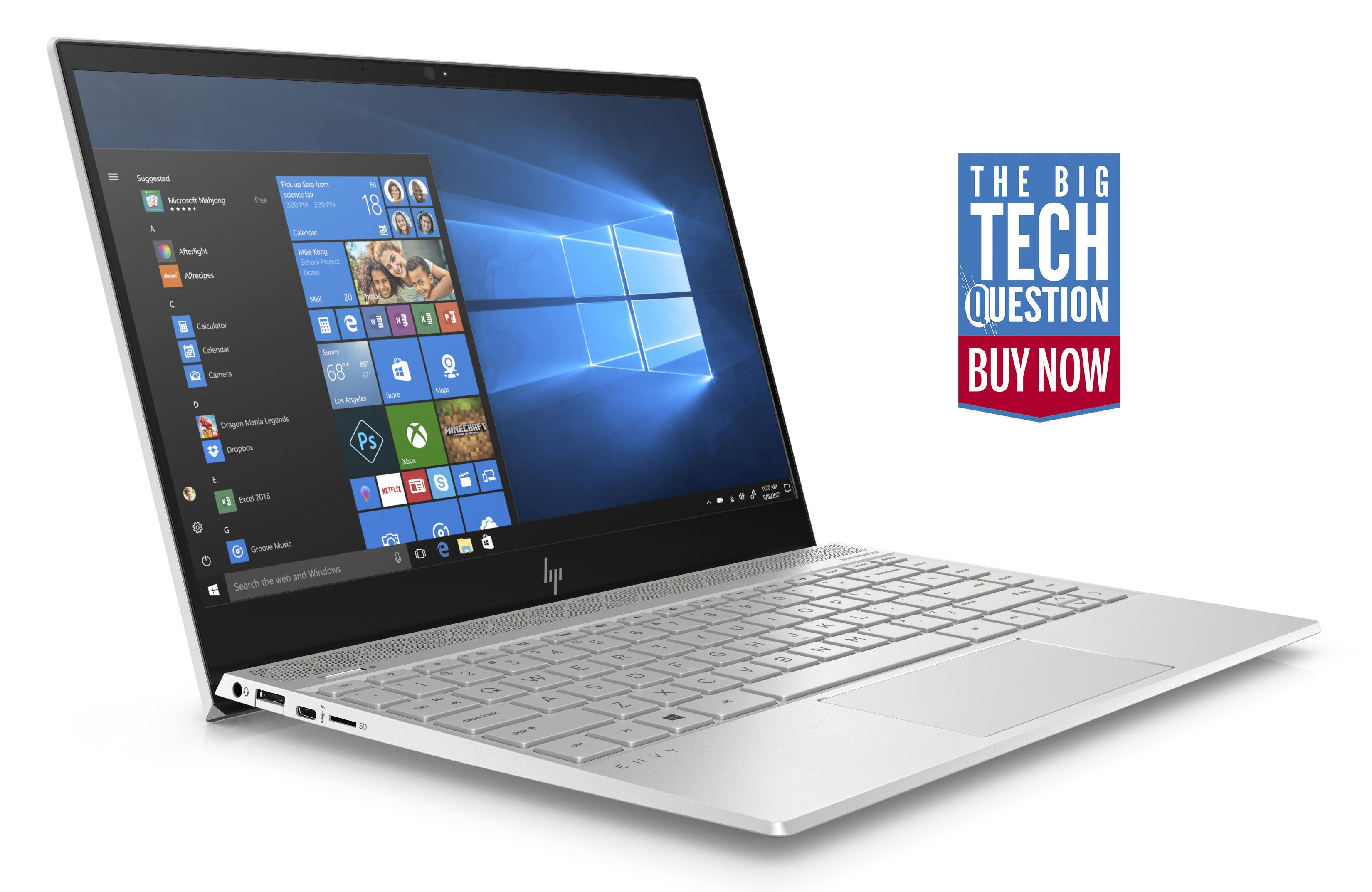 HP Envy 13 review: the best looking sub-£1,000 laptop there