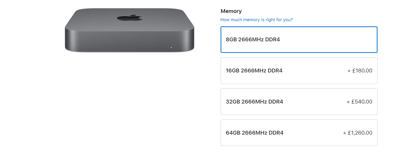Mac Mini upgrade
