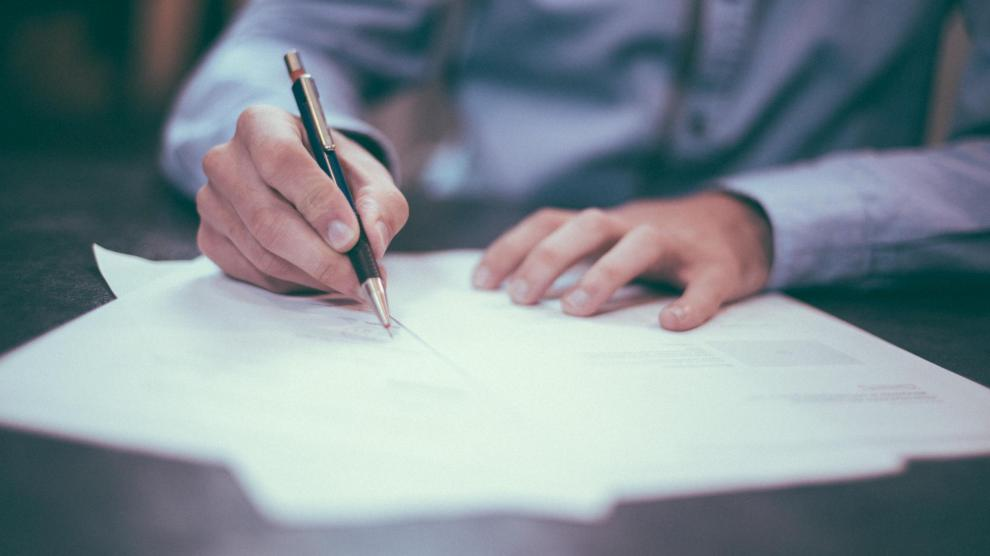 sign a Word document