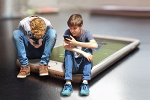limit your kids' time online
