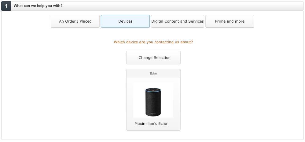 Amazon Echo humming