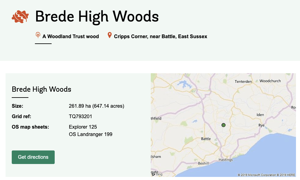 Brede High Woods