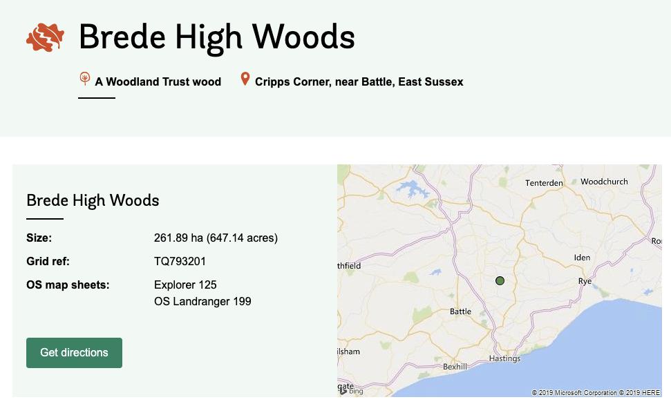 Brede High Woods
