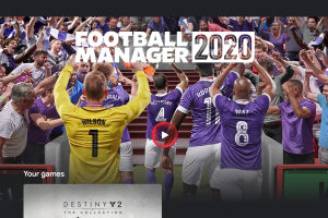 Football Manager 2020 Google Stadia