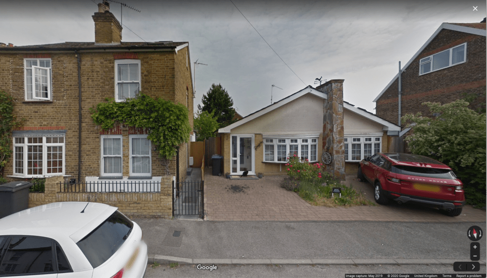 house removed from Google Maps