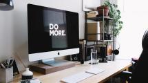 Apple iMac on a desk