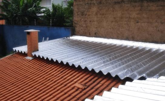 Aplicação de Mantas em Telhados