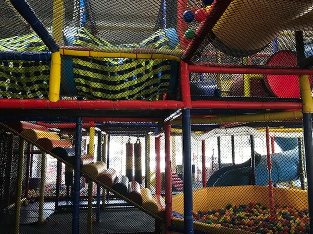 The Big Strawberry Playground