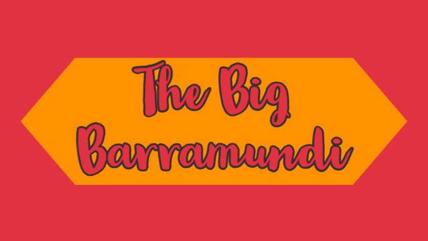 The big barramundi
