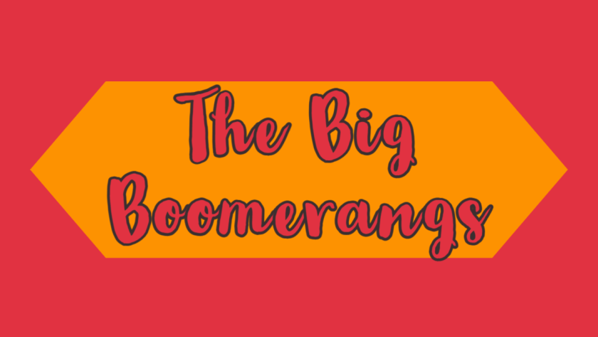 Featured image for the big boomerangs
