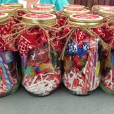 candy favor mason jar