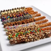 Chocolate Dipped Pretzal Rods