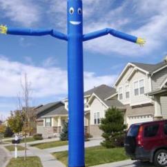 Blue Air Dancer House