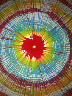 spin art work
