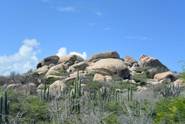 Rock Formations in Aruba