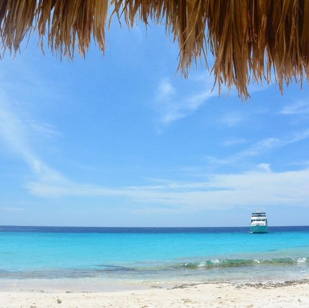 Beach at Klein Curacao