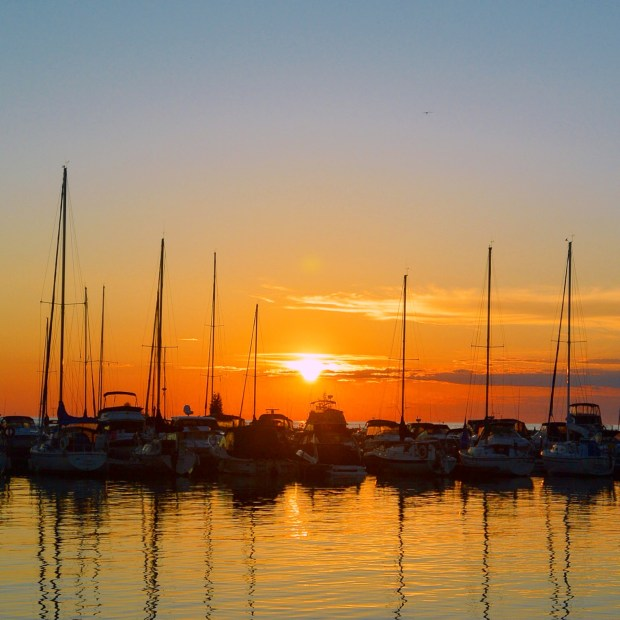 Sunset at Port Elgin Harbour