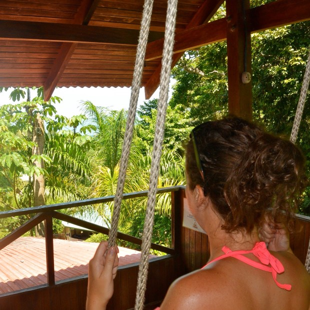 Swinging in the Manuel Antonio Jungle