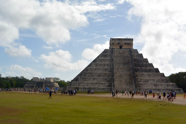 Chichen Itza at 8:30am before tour buses started arriving
