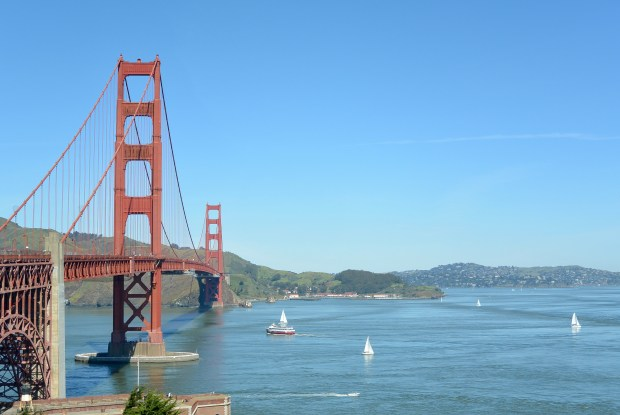 Views of the Golden Gate Bridge