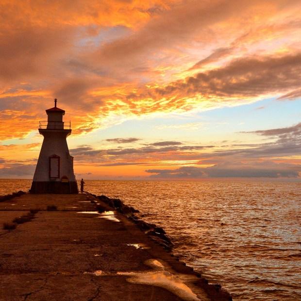 Sunset in Southampton, Ontario