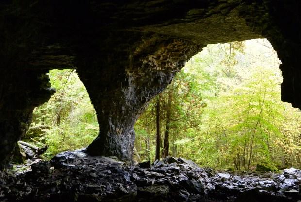 Bruce Caves, Wiarton