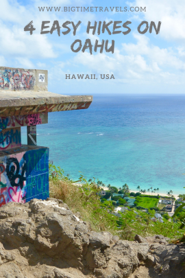 Easy Hikes on Oahu Pin