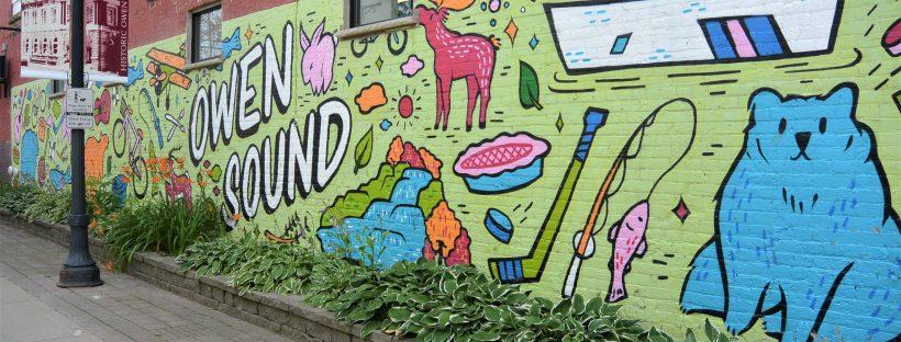 Downtown Owen Sound Mural