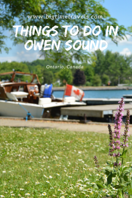 Things to do in Owen Sound Pin
