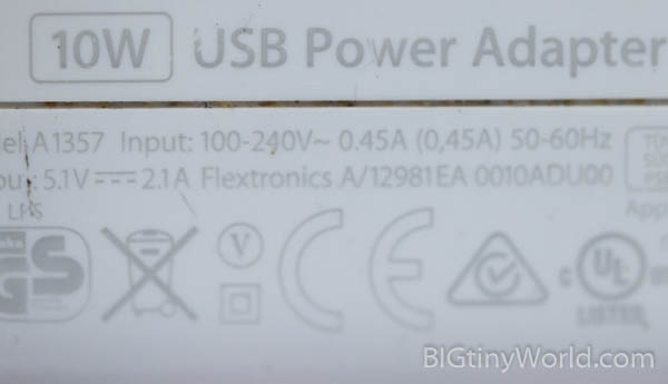 USB Power Adapter Voltage