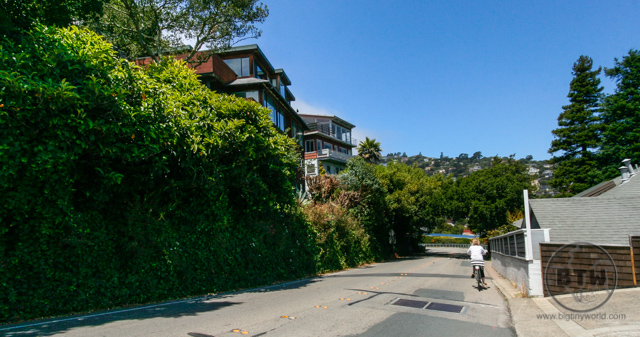 A street in Sausalito in San Francisco | BIG tiny World Travel