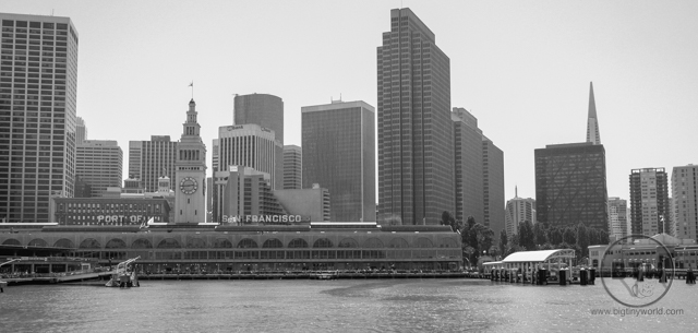 A view of the pier from the San Francisco Bay | BIG tiny World Travel