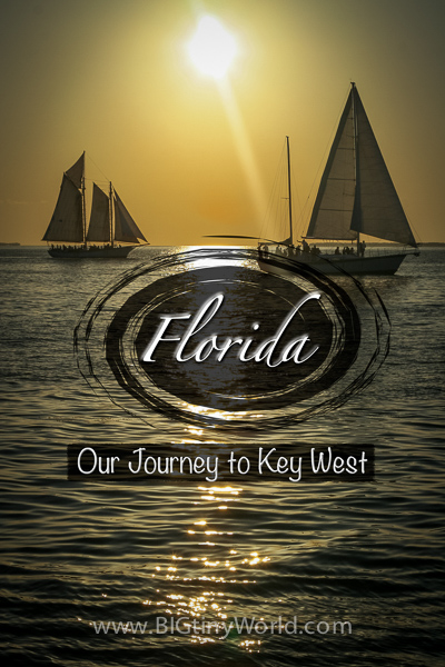 Florida: Our Journey to Key West | BIG tiny World Travel | Our drive from Miami to Key West was a long one, but it was worth it for the fun adventures the island had in store for us! | #travel #keywest #florida #tropical #travelcouple #vacation