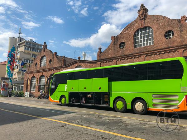 Flixbus in Heidelberg