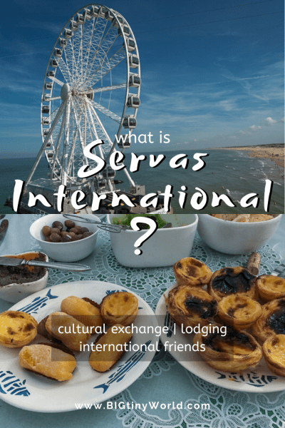 Traveling with Servas International | Traveling with Servas International is more than just another lodging option, it is a memorable cultural experience. Click here to learn all about our different hosts and how you can join as a traveler or host. Click to read about our favorite way to exchange culture! | BIG tiny World Travel | #budgettravel #culturalexchange #longtermtravel #travelmore #shadeadventures